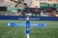 COPPA ITALIA ECCELLENZA PROMOZIONE (finale fase regione calabria 22 dic 2018): PREGARA CORIGLIANO CALABRO-SAN LUCA